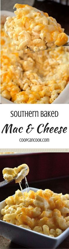 The Great Mac & Cheese Debate is serious! But, Coop's Baked Mac and Cheese recipe will meet everyone in the middle and please even the pickiest eaters!