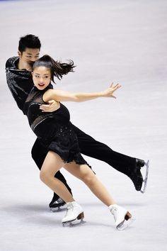 NHK Trophy 2013 Maia Shibutani & Alex Shibutani - bronze medalists [x]