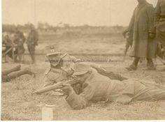 BU-F-01073-1-00059 Soldat la instrucţie. Primul război mondial, -1916 (niv.Document) Wwi, First World, Troops, World War