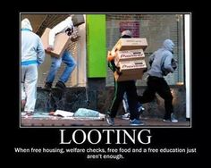 """How does this sh*t help """"the cause""""??! #PantsUpDontLoot  #AmericanTyranny"""