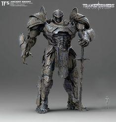 Transformers The Last Knight Concepts - The Knights of Iacon, Furio Tedeschi Transformers 5 Movie, Gi Joe, Armadura Medieval, Last Knights, Knight Art, Fantasy Armor, Fantasy Dragon, Weapon Concept Art, Animes Wallpapers