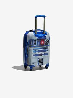 Star Wars R2-D2 Spinner Luggage