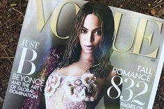 Beyonce posed for Vogue's September issue #Fashion, #MarcJacob, #Photograph, #Twitter