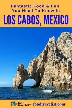 If you're looking for fun in the sun and a delicious food destination check out Los Cabos, Mexico. You can enjoy the many activities and the tastes of the region as well. #foodtravelchat #foodtravlel #mexico