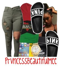 """"""""""" by prvncessbeautifulmee ❤ liked on Polyvore featuring Conair, Carmex and Tommy Hilfiger"""