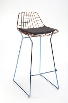 Hey, I found this really awesome Etsy listing at https://www.etsy.com/listing/517306406/bertoia-wire-bar-stool-wire-chair