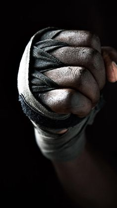 ill - mannered:  the pugilist.....photo credit?