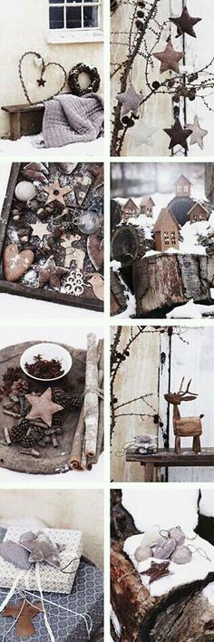 some scandinavian christmas tree ornaments just perfect for rustic christmas ideas