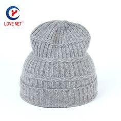 >> Click to Buy << 2017 New girls winter hat casual grey cotton blends knitting caps jacquard weave comfortable warm women hats DS20170154 x113 #Affiliate