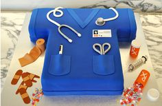 #102 - ER Nurse cake