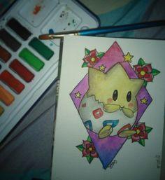 #togepi #watercolor #sketch