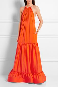 STELLA MCCARTNEY Cassie tiered silk gown   £2,720.83 https://www.net-a-porter.com/products/645597