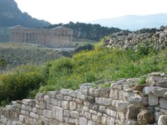 The Temple at Segesta, glorious in its isolated beauty