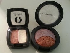 Too Faced Duo - George & Weezie  - used a few times - $8 MAC Mineralize Eyeshadow duo - Under Your Spell. Used twice - $15
