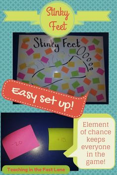 Twisted Test Prep: Stinky Feet!  A simple test prep game kids will LOVE