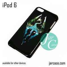 Skyrim Logo in Nature iPod Case For iPod 5 and iPod 6