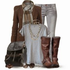 This Winter Outfits 2015 are really beautiful. Check the outfit, and get inspired. mk bags,fashion bags for women mk bags, cheap michael kors Mode Outfits, Chic Outfits, Fashion Outfits, Womens Fashion, Fashion Trends, Fashionista Trends, Fashion Bags, Fall Winter Outfits, Autumn Winter Fashion