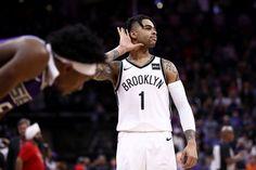 9e41d74da211 DAngelo Russell Has 44 as Nets Roar Back to Beat the Kings The Nets snapped  a
