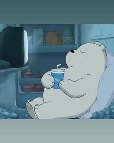 we bare bears ice bear drinking Ice Bear We Bare Bears, We Bear, We Bare Bears Wallpapers, Cute Wallpapers, Bear Pictures, Cute Pictures, Bear Meme, Bear Drink, Pan Pan