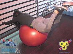 Stability Ball Reverse Hyperextensions: 2 glute-sculpting variations. Check out the video!