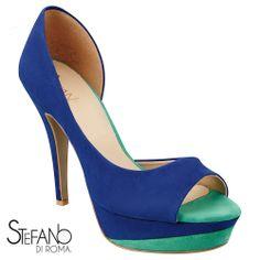 A00052-Azul Rey-Verde Zapatilla-Aria