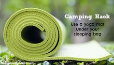 Camping has never been easier than with these genius camping hacks! Make your own lantern, keep your cooler colder, sleep better and zip your zipper easier!