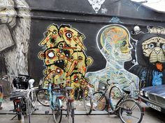 #streetart #berlin #deutschland Checkpoint Charlie, Painting, Berlin Wall, Reunification, Cold War, Painting Art, Paintings
