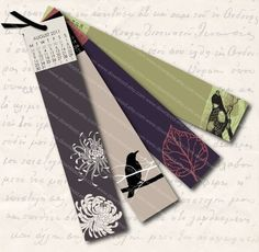 Bookmark Design Ideas fun and creative bookmark designs blog of francesco mugnai Printable Bookmark Calendar