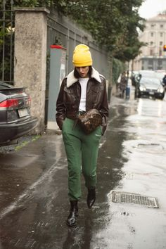 See All the Best Street Style from Milan Fashion Week: Gilda Ambrosio