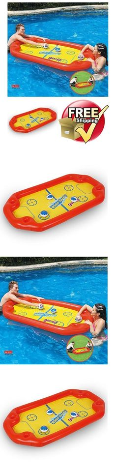 Toys and Games 181056: Inflatable Pool Floats Hockey Toy Kids Water Fun Raft Swimming Summer Party Game -> BUY IT NOW ONLY: $37.12 on eBay!