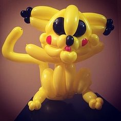 A Balloon Artist Is Making All 151 Original Pokémon Out Of Balloons