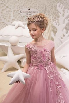 Items similar to Blush Pink Flower Girl Dress - Birthday Wedding Party Holiday Bridesmaid Flower Girl Blush Pink Tulle Lace Dress on Etsy Pink Flower Girl Dresses, Flower Girls, Pink Flowers, Girls Dresses, Prom Dresses, Flower Girl Hairstyles, Little Girl Hairstyles, Pink Tulle, Tulle Lace