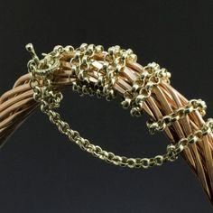 Цепь «Гороховая»   в золоте | Кустодия-творческая мастерская. Ювелирные украшения ручной работы./ Цепи и браслеты золотые и серебряные/