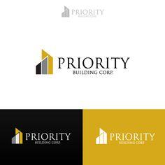 Priority Building Corp  |  logo design  |  logobids.com