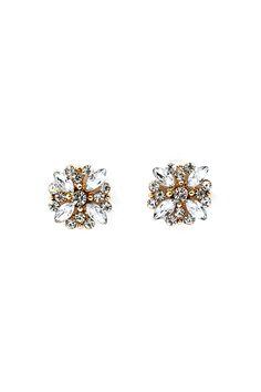 Crystal Audrey Earrings//