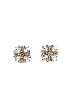 Crystal Audrey Earrings