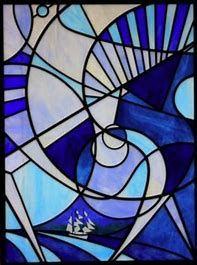 Image result for Abstract Stained Glass Pattern