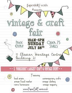 Elsecar Vintage and Craft Fair