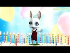 Zoobe Зайка Поздравляю с днем рождения! - YouTube