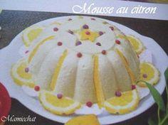 Mousse glacée au citron au lait concentré