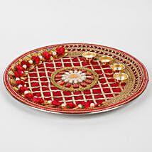 Desi Wedding Decor, Wedding Stage Decorations, Wedding Crafts, Festival Decorations, Arti Thali Decoration, Kalash Decoration, Diwali Decoration Items, Diwali Diy, Diwali Craft