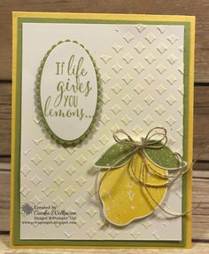 Lemon Zest & Embossing Paste