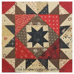 scrap basket block #9 remember these? « Lisa Bongean's Weblog