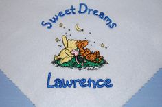 Custom Baby Blanket Personalized Baby Gift by Dana Marie Creations, $14.50