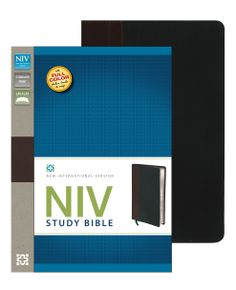 "[""The NIV Study Bible<\/i> is the bestselling study Bible in the world\u2019s most popular modern English Bible translation - the New International Version<\/i>. It features a stunning interior with full-color photographs, \r\nmaps, charts and illustrations. The \r\nin-depth notes are coded to highlight items of special interest in the \r\nareas of character study, archaeology and personal application.Visually arresting section breaks help you find your bearing in the \r\nBible. R…"