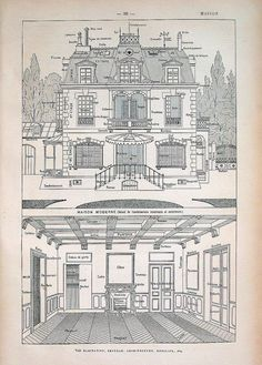 Accueil Maison Print Dictionnaire français par mysunshinevintage, $15.00