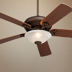 "52"" Casa Vieja Trilogy Ceiling Fan - #43969-08607 | LampsPlus.com"