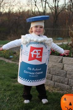 Cottage Cheese Halloween Costume