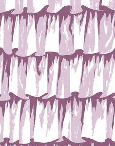 Frills Wallpaper, Color 24