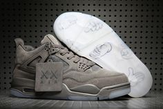 reputable site 1b4ba a8c01 Discover the New KAWS X Air Jordan 4 Cool Grey White Top Deals group at  Pumafenty. Shop New KAWS X Air Jordan 4 Cool Grey White Top Deals black,  grey, ...